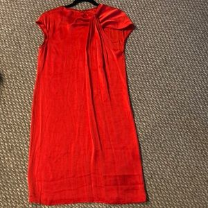 ST. JOHN, Cherry Red Dress,Size 6, MINT CONDITION
